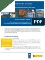 El Cambio Climatico en Colombia