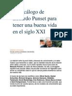 El decálogo de Eduardo Punset para tener una buena vida en el siglo XXI