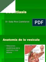 23 Colelitiasis CA Vesicula Dr Rios 2008 Pptminimizer
