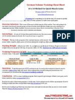 German+Volume+Training+Cheat+Sheet