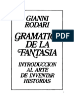 Rodari Gianni - La gramática de la fantasía