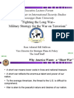American Policy & war on terror