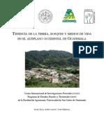 Tenencia de tierra bosques altiplano