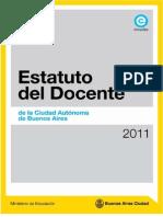 Estatuto de Docente Municipal