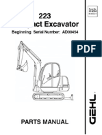 223 Excavator After Sn AD00453