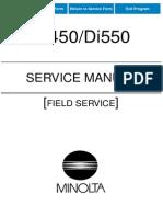 Field Servis Minolta 550