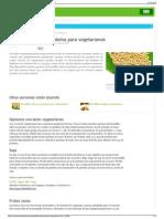Bocadillos altos en proteína para vegetarianos  eHow en Esp