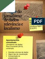 O lugar do jornalismo de dados