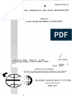Apollo 9 30 Day Failure and Anomaly Listing Report