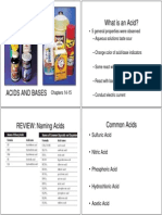 Acids and Bases Student 10