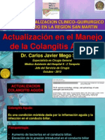 Colangitis Aguda Curso CMP 2013 - 3