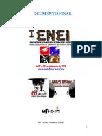 Documento Final i Enei Ufscar 2013