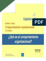 Robbins CO13aEd Cap01 Qu Es Comportamiento Organizacional