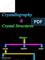 Crystal Structure ppt jntu