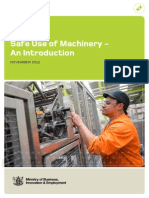 Machinery Safe Use an Introduction