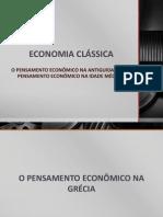 ECONOMIA CLÁSSICA _ 1ª AVALIAÇÃO (PARTE 1)