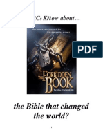 Do RCs Know About the Bible That Changed the World?