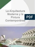 La Arquitectura Moderna Y Pintura Contemporánea