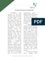 suplementação nutricopnal em desnutriçao