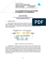 [Teleprem] Advanced i&c Systems for Nuclear Power