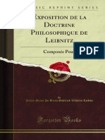 Exposition de La Doctrine Philosophique de Leibnitz 1200118591