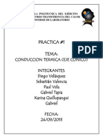 Informe Barra Conica