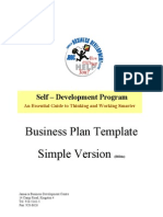 JAMBIC Business Plan Simple Version