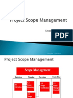 Project Scope Management Chap-3