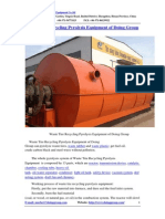 Waste Tire Recycling Pyrolysis Equipment of Doing Group