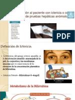Exposicion paciente icterico