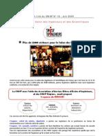Flash info CNISF N° 16 Juin 2009 Bilan du Salon des ingénieurs