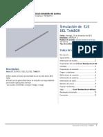 EJE DEL TAMBOR-Estudio Estatico en El Eje Del Tambor-1