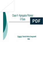 Clase III- Agregados Petreos