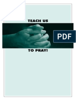 Prayer View Teach Us to Pray