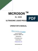 Xl 2000 Manual