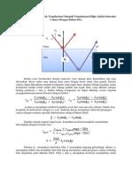 Polarisasi Cahaya Dari Tak Terpolarisasi Menjadi Terpolarisasi Ellips Akibat Interaksi Cahaya Dengan Bahan SiO2