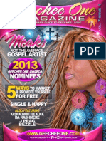 Geechee One Magazine - December 2013