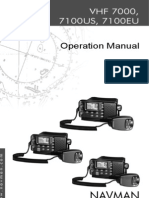 NAVMAN VHF 7100 MANUAL