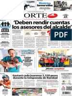 Periódico Norte de Ciudad Juárez 23 de Diciembre de 2013