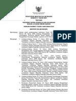 Peraturan Menteri Dalam Negeri  Nomor 61 Tahun 2007 Tentang Pedoman Teknis Pengelolaan Keuangan BLUD