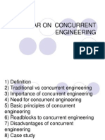 Concurrent Engineering Seminar