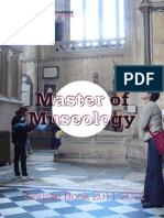 Course Catalogue Master Museology 1112