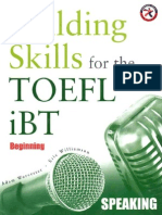 Building Skills for the TOEFL iBT Speaking