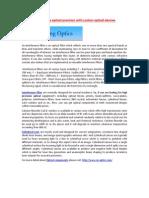 Interference Filter Cylindrical Lens-Cn-optics.com