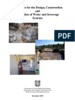 Guidelines for the Design, Construction and Operation of Water and Sewerage Systems Very Good