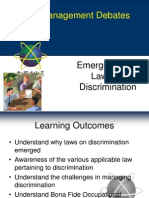 PMD Chapter 5 - Discrimination