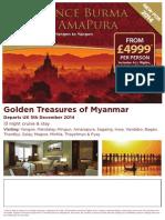 Experience Burma on Rhe Amapura