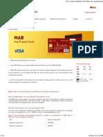 Visa Prepaid _ Myanma Apex Bank