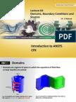 CFX-Intro 14.5 L04 Domains BCs Sources