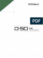 D-50 MIdi Implementation